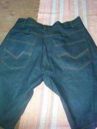 Bermuda masculina jeans nova