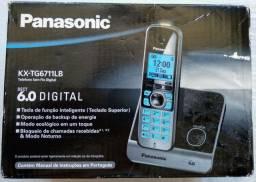 Telefone sem fio Panasonic KX-TG6711LB