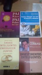 Livros de Educação Financeira - Os Quatro em Ótimo Estado de Conservação