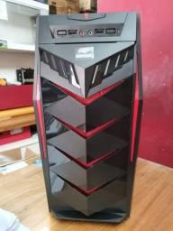 Gabinete tipo gamer c3tech atx novo na caixa tenho varias pecas