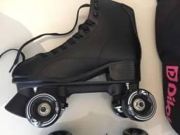 Patins Roller Derby Elite 38,5 + Brinde / Novo