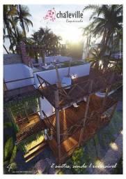 Praia do Coqueiro, 2 Suítes, com Rooftop, Lançamento
