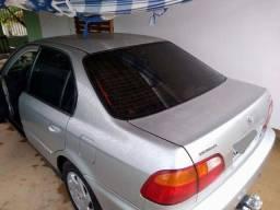 Honda civic ano 99. Automático, air bag, completo