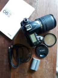 Máquina fotográfica D90 Nikon