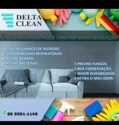 Limpeza impearmeabilização higienização