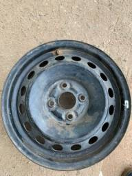 Título do anúncio: Roda de ferro aro 14 toyota Etios