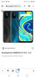 Título do anúncio: Vendo ou troco celular umidigi A7POR