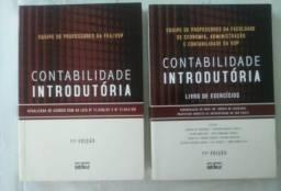 Livros usados Contabilidade Introdutória Texto e Exercícios - FEA/ USP