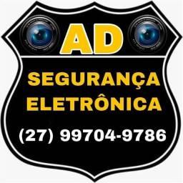 INSTALAÇÃO E MANUTENÇÃO DE CÂMERA DE MONITORAMENTO, ALARME, VÍDEO PORTEIRO, ETC...