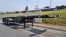 Carreta Bug Porta Container 2022 Zero Km 12 Pinos