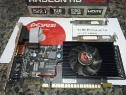 Placa Vídeo Amd Radeon Hd 5450 1gb Ddr3 Com Perfil Baixo