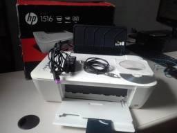 Impressora C/ Scanner Multifuncional  HP Deskjet Ink Advange 1516