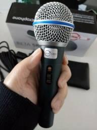 Microfone com fio, BETA 58A