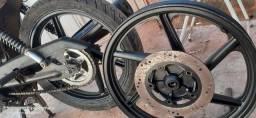 Rodas da cbx200 adaptada 150
