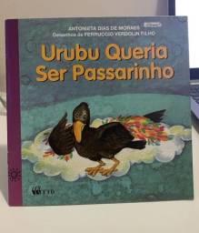 Livro Urubu queria ser passarinho