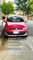 Volkswagen crossfox 1.6T MSI controle EST, TRAÇÃO RAMPA 6 MACHAS