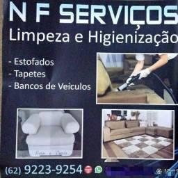 Lavagem de sofá a seco em domicílio