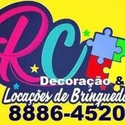 Decoração e locação de brinquedos é com à RC no 98886_4520fazendo sua festa