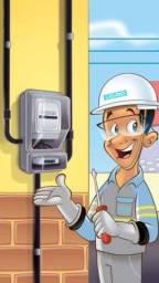 Título do anúncio: Padrão de entrada LIGHT para medidor de energia