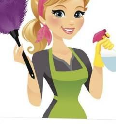 Sou diarista para limpar sua casa