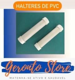Título do anúncio: Halteres de PVC