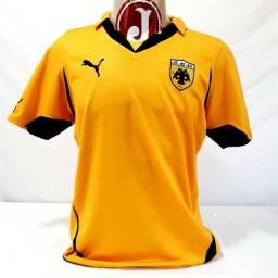 Camisa AEK Atenas Grécia Puma Futebol Original