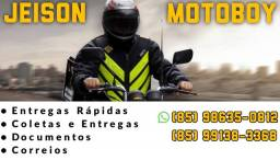 Faço freelancer de Motoboy e Delivery
