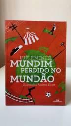 Livro Mundim perdido no mundão - Luiz Pimentel