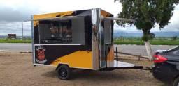 Trailer Arredondado Exclusividade Thiago Murilo Food Truck