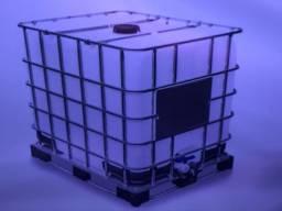 Reservatório para combustível, gaiola em aço 1000 Litros, usado