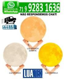 Luminaria Led Formato De Lua Com Suporte Lkj-158