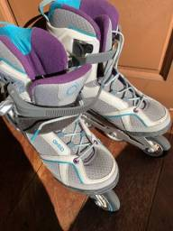 Roller Patins oxelo fit 5 número 40