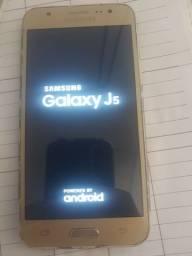Samsung j5  aceito cartão e pix