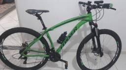 Vendo bike alumínio Foxxer 24 velocidades, aro 29 e quadro 17 COMPLETA