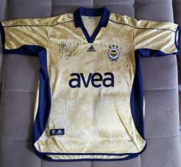 Camisa Fenerbahçe autografada pelo Alex