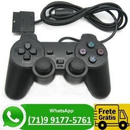 Controle Playstation 2 Ps2 Joystick Gamepad Analógico (NOVO)