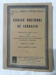 CODIGO NACIONAL DE TRÂNSITO 1952