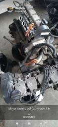 Motor, VOYAGE, GOL, SAVEIRO 1.6