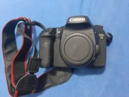 Câmera Canon 7D com lente 28-135 utrasonic