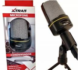 Título do anúncio: microfone condensador com ajuste de volume top