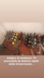 Vendo bebidas originais e fechadas