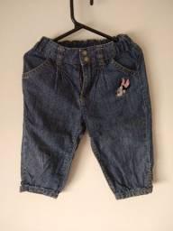 Calça jeans Minnie Tam 12-18 meses