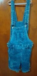 Macacão jeans 38