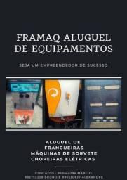 FRAMAQ Aluguel de Equipamentos