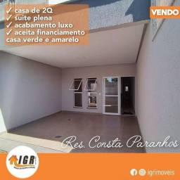 Título do anúncio: CASA PARA VENDA- RESIDENCIAL COSTA PARANHOS