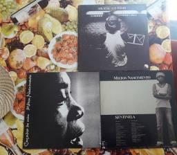 Box Milton Nascimento - 3 Discos de Vinil (LP)