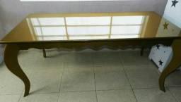 Mesa dourada Luiz XV