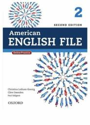 Livro Inglês American English File 2