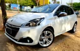 Aceita Troca Peugeot 208 Urban Tech 1.6 Flex AT 6 Marchas Baixo Km - 2018
