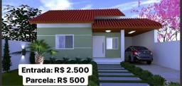Saia hoje mesmo do aluguel, com entrada de R$ 2.500